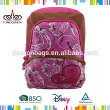 Baratos de las niñas de la escuela mochila/2014 mejor venta escuela mochila/mochila de la escuela