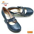 las mujeres al por mayor de mary jane zapatos en color azul marino