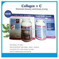 Tabletas de colágeno + C