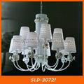 Araña de cristal de tela de araña de luz sld-30721