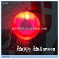 decoração de Halloween piscando emblema do partido