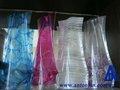 2012 personalizado de plástico de colores florero