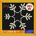 Decorativo luz LED de Navidad copo de nieve