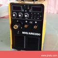 Mig/mma-200 igbt máquina de soldadura soldador mig