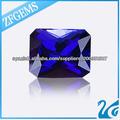 corte de la princesa azul zafiro de la piedra preciosa espinela