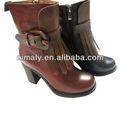 botas de cuero de moda / zapatos de la señora 'recién