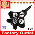 F22 2.4g 4 ch fibra bubble jet fighter epp rc quadcopter rc brinquedos avião de guerra