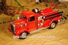 juguete de metal camiones de bomberos