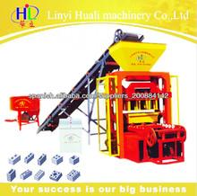 QTJ4-25 maquinas para fabricar bloques de concreto