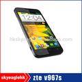 Preço de fábrica 100% zte original do telefone móvel dual sim dual câmera 3g telefone celular inteligente
