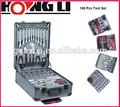 Hl-12167 186 piezas de alta calidad caja de herramientas mecánicas conjunto