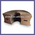 plegable de nido de abeja de papel reciclado de muebles para dkpf12090602