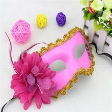 venta caliente chica de halloween máscara del partido