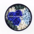 elegante frescas rosas conserva las flores para regalo de cumpleaños o de regalo de navidad