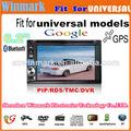 DH6530 6.2inch y el doble de multimedias del coche del dinar para los modelos universales