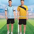la copa del mundo 2014 camisetas promocionales baratos de trajes para hombre en blanco equipo uniformes de fútbol kit