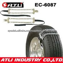 Cadena de nieve de emegencia para los camiones pesados, anti - skid de la cadena, la cadena de neumáticos