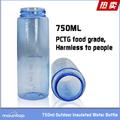 2014 nuevas botellas invención de agua botellas de plástico vacías