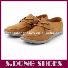 nuevos puestos de trabajo de cuero zapatos de los hombres