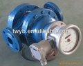 Mecánica de aceite del rotor del medidor de flujo& de rotor helicoidal del medidor de flujo& aprobado por la ce