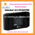 aircard 754s 4g lte router con ranura para tarjeta sim 4g router wifi 5 de apoyo a los usuarios compartir wifi hotspot