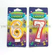 torta de cumpleaños número de velas