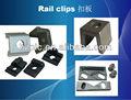 la grúa clips de ferrocarril