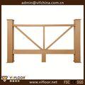 Las ventas caliente& balcón la decoración al aire libre de madera valla de plástico