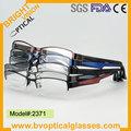 La moda no moq ultem marco óptico gafas(2371)
