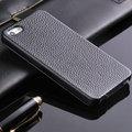 cubierta de cuero vacuno genuino litchi para iphone 5,para el iphone 5s 4 en 1 caso