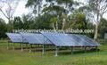 solar de montaje del sistema de rack