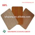 Formica madera de grano laminado/laminado hpl