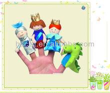 divertido suave de la felpa prine niños juguete dedo marioneta