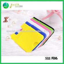 2014 conveniente de la moda de silicona de crédito titular de la tarjeta