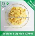 sulfuro de sodio escamas de color amarillo fabricante