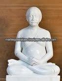 estatua de mármol de lahiri mahashaya de kriya yoga