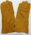 guantes de protección para labores de soldadura