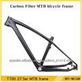 De fibra de carbono bicicleta marco mointain, mtb 27.5er piezas de carbono
