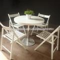 ファストフードダイニングテーブルラウンド/ファーストフードのテーブルと椅子/テーブルファーストフード