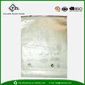 2014 venda quente zíper do saco de plástico para a roupa, pe saco de plástico