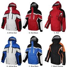 venta al por mayor colorido ski snowboard ropa chaqueta de desgaste