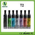 Productos del E-cigarrillo de la salud de Cartomizer del T2 nuevos con la bobina cambiable