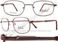 anteojos de metal marcos ópticos