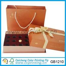 especial cajas de chocolate de embalaje