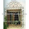 decorativos de hierro de la ventana de la parrilla con diseños de lujo superior