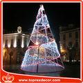 llevado luz árbol de navidad