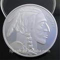 La libertad 2013 indio de cabeza de búfalo ag 999 moneda de plata réplica/américa de monedas de plata