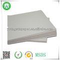 750g reciclagem de papelão cinza placa/moldura de papel cinza