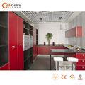 2014 mejor venta de cristal del armario de cocina, de alto brillo gabinetes de la cocina
