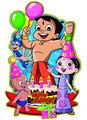 Venda quente! Corte a laser de aniversário decoração para festa infantil meninos atacado srong 18 tema